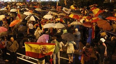 """Nuevo acto contra la independencia en Barcelona: """"Nos mojamos por España"""""""