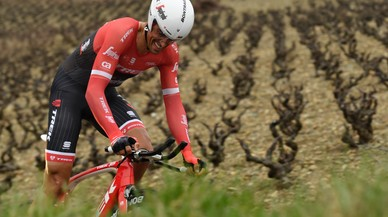 Contador recupera bones sensacions a la París-Niça