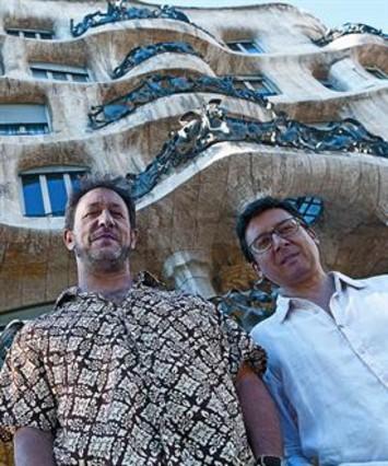 Gorka Benítez y David Xirgu exponen su alianza en Jamboree