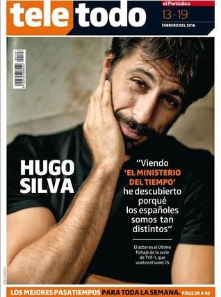 Hugo Silva, el nuevo fichaje de 'El Ministerio del Tiempo'