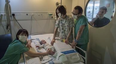 El Hospital del Vall d'Hebron perfecciona la salvación de los 'niños burbuja'
