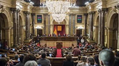 La sesión de control en el Parlament, en directo