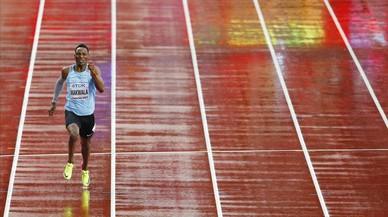La seguretat va impedir físicament a Makwala l'accés a l'estadi olímpic