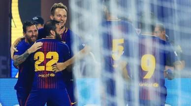El Barça s'emporta el primer clàssic