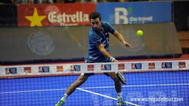Jugada en el Sevilla Open de p�del.