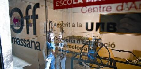 Alumnos de la Massana abren talleres en Robador