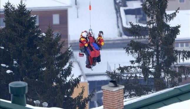 Grave accidente de Vonn en los Mundiales de esquí