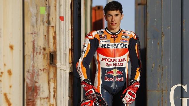 Marc Márquez, tricampeón del mundo de MotoGP con Repsol-Honda.