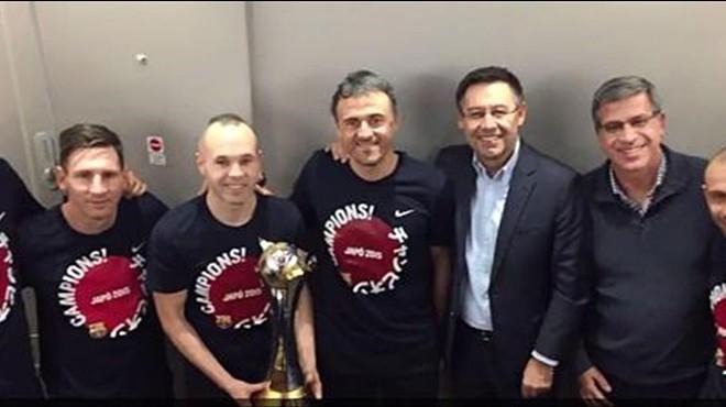 El Barça arriba a casa com a campió del món