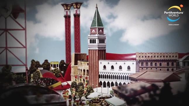 Port Aventura mostra en un vídeo nous detalls de Ferrari Land