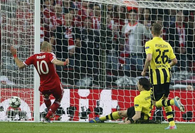 El Bayern M�nich gana la Liga de Campeones tras vencer al Borussia Dortmund (1-2)