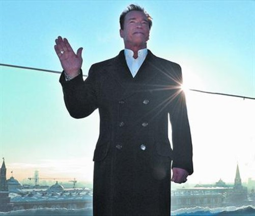 Arnold Schwarzenegger: �Muchos fans me votaron sin leer mi programa pol�tico�