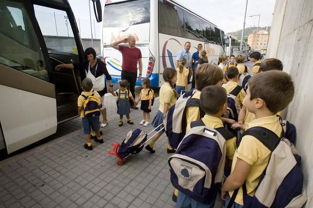 Campaña de inspección del transporte escolar y de menores