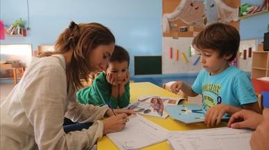 Uno de cada cuatro profesores de la escuela pública catalana son interinos
