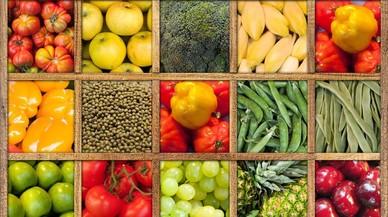 Els nens suspenen en el consum de verdures i fruites