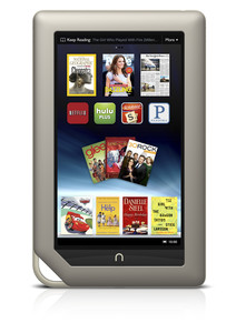 El lector de libros electrnicos Nook, de Barnes &amp;amp; Noble.
