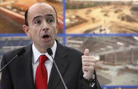 Manuel Lamela, exconsejero de Sanidad de la Comunidad de Madrid, en el 2008.