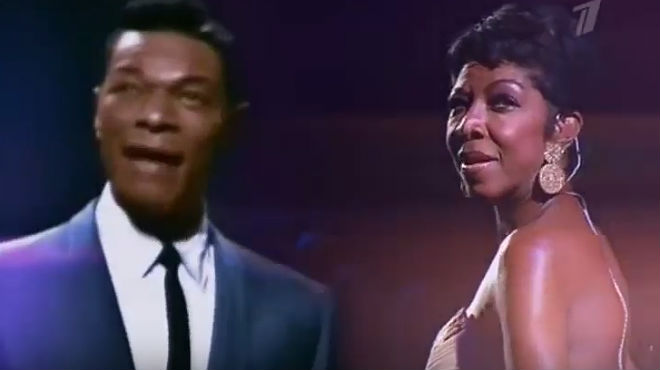 Natalie Cole y Nat King Cole interpretan Unforgettable en un dúo virtual