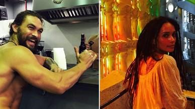 Khal Drogo i Lisa Bonet, a la Sagrada Família