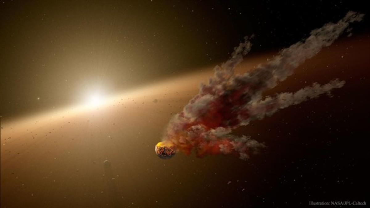 Una de las hipótesis sobre el extraño comportamiento de la estrella es que un planeta se habría roto alrededor de ella y sus escombros no dejarían pasar la luz de la estrella.