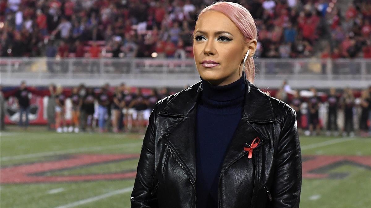 Kaya Jones, excantante de Pussycat Dolls, en Las Vegas