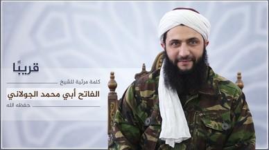 El l�der del Frente Al Nusra, que ha pasado a llamarse Frente de la Conquista del Levante.