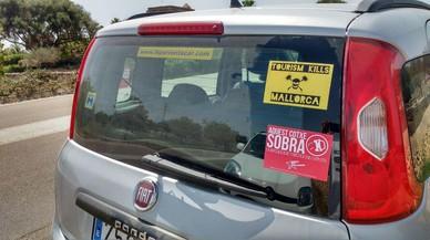 """Adhesius en vehicles de lloguer a Palma: """"Aquest cotxe sobra"""""""