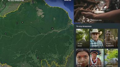 Google Earth convida a descobrir la història de les cultures indígenes de l'Amazònia
