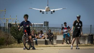Aviones en El Prat.