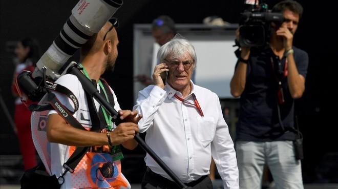 Bernie Ecclestone, en Monza hace unos d�as.