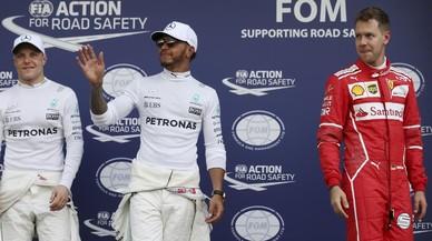 Bottas, Hamilton y Vettel, los tres más rápidos hoy en Melbourne.