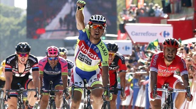 Peter Sagan gana al sprint