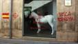 Atac vandàlic contra una galeria de Figueres on s'exposa una obra sobre el 9-N
