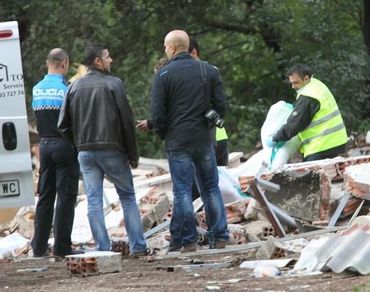 Un muerto al ceder el techo de un restaurante abandonado en Caldes de Montbui