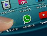 Imatge d'arxiu de l''app' Whatsapp.