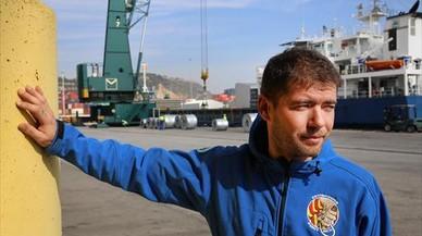 """Gabriel Jiménez: """"Los estibadores hablamos de solidaridad, no de dinero"""""""