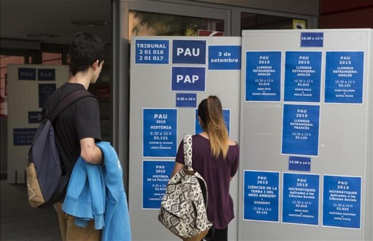 Universidad, también con la FP