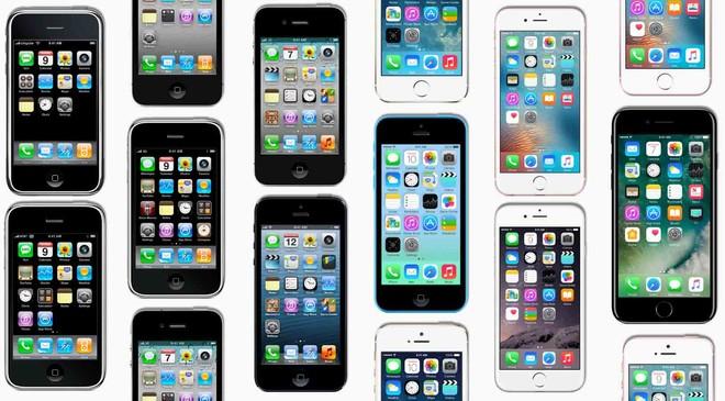 Móviles iPhone de todos los modelos.