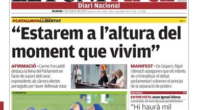 El quiosc li diu a Rajoy que ja n'hi ha prou, dona Aguirre per acabada i assenyala Marhuenda