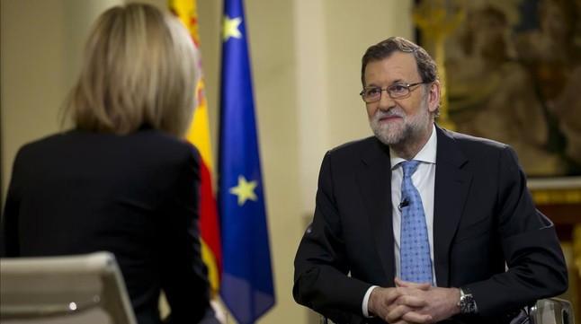 """Mariano Rajoy: """"El pacto de PSOE y Ciudadanos no sirve para nada"""""""