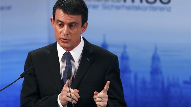 El primer ministro franc�s, Manuel Valls.