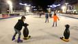 Sabadell instala una nueva pista de patinaje ecológica en el paseo de la Plaza Mayor