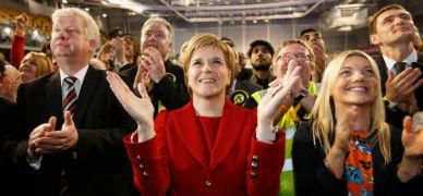 """Surtegon proclama una """"victoria hist�rica"""" de los nacionalistas en Escocia"""