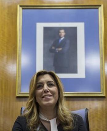 Ciudadanos cita a Susana Díaz para comparecer en la comisión de investigación de los cursos de formación