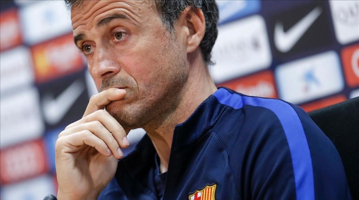 """Luis Enrique: """"Haurem de jugar molt bé per guanyar la Juve"""""""