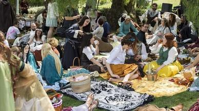 Pícnic hòbbit al parc