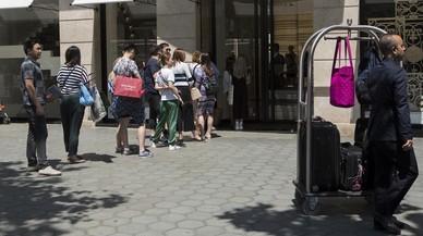 Alerta per la caiguda de les reserves hoteleres a Barcelona
