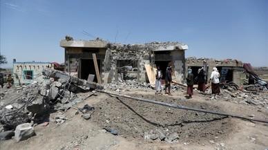 Almenys 37 morts en un bombardeig al Iemen