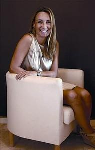 Bética 8 Patricia Ramírez, ayer en su consulta de Granada.