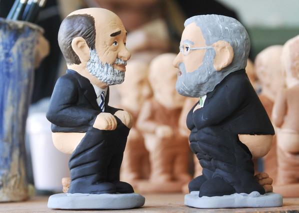 Rubalcaba y Rajoy, en